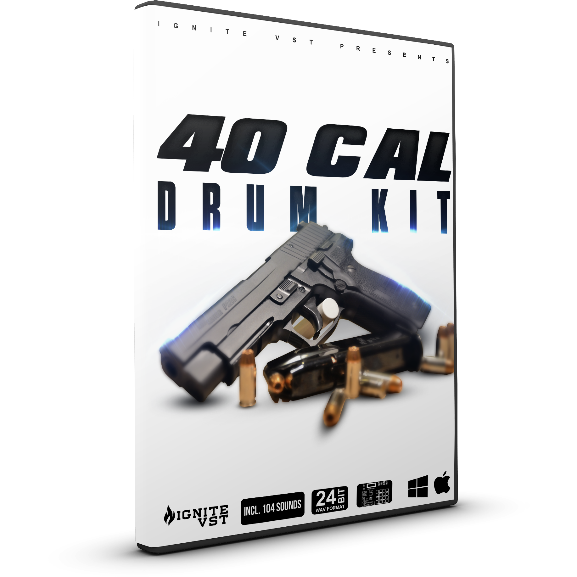 40 CAL - DRUM KIT