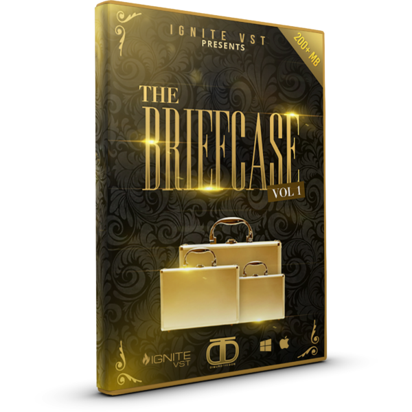The Briefcase V1 - Drumkit