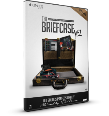 The Briefcase V2 Drum Kit