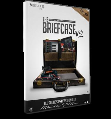 The Briefcase V2 Drum Kit