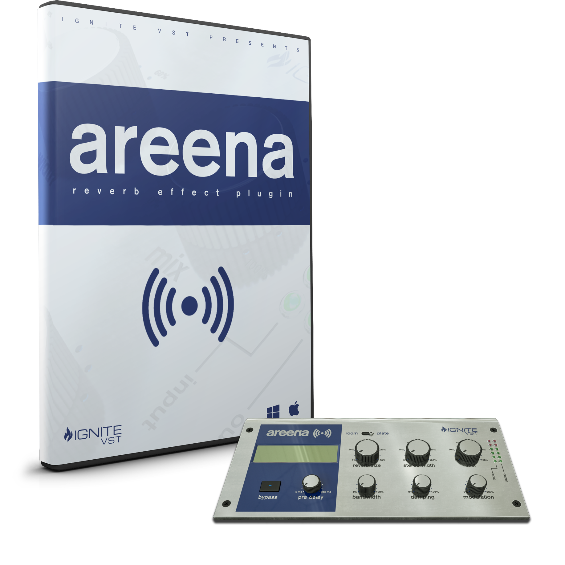 Areena Reverb Cover