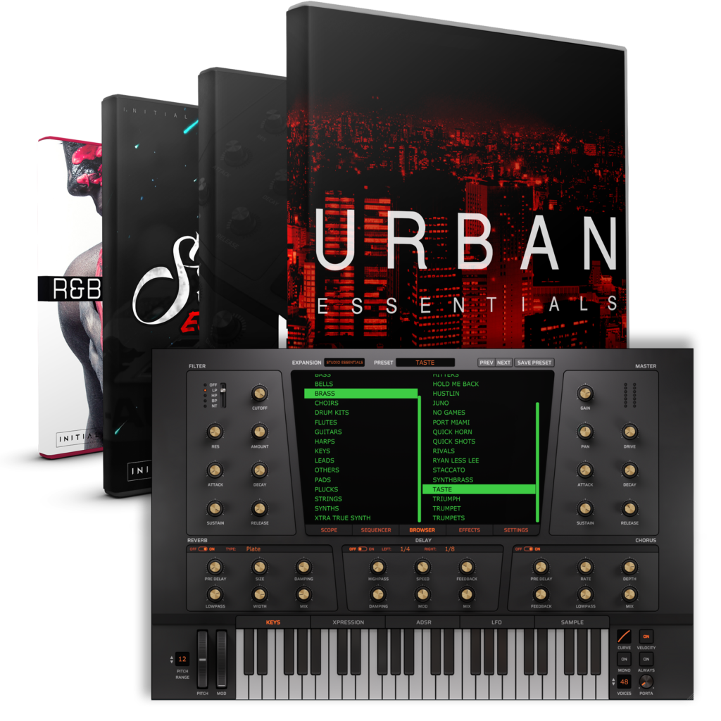 HEAT UP 3 - ESSENTIALS BUNDLE - INITIAL AUDIO