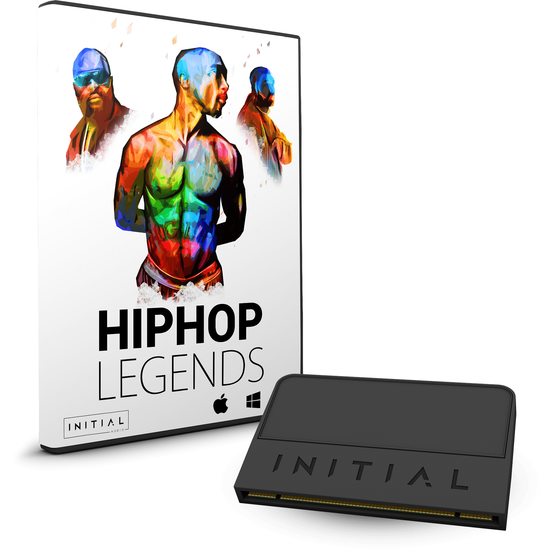 HIPHOP LEGENDS - HEATUP2 XP - INITIAL AUDIO