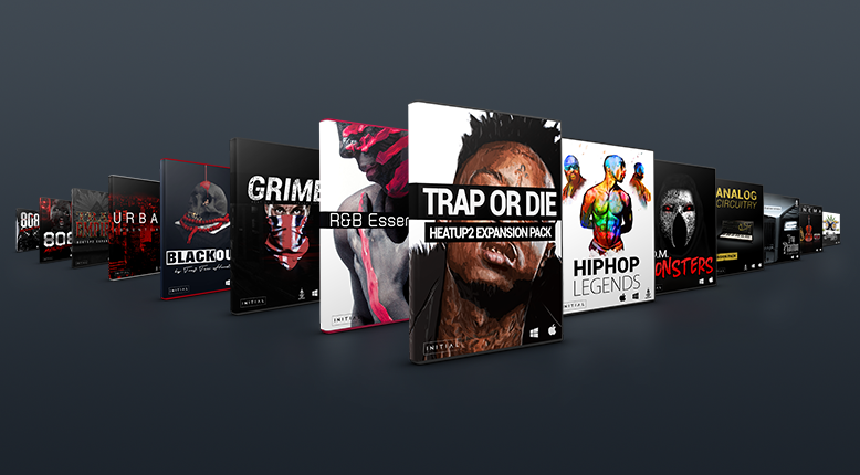 Hiphop VST Plugin Expansion Packs for Heatup2