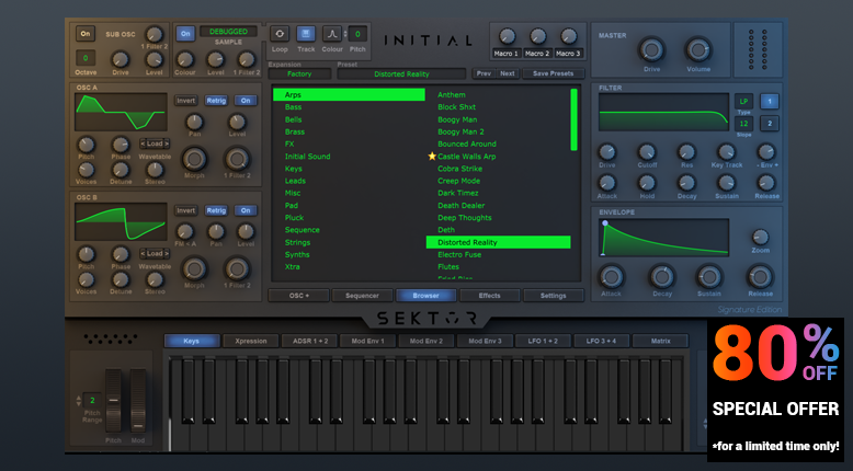 Initial Audio - Quality Virtual Instruments for Trap, Hiphop